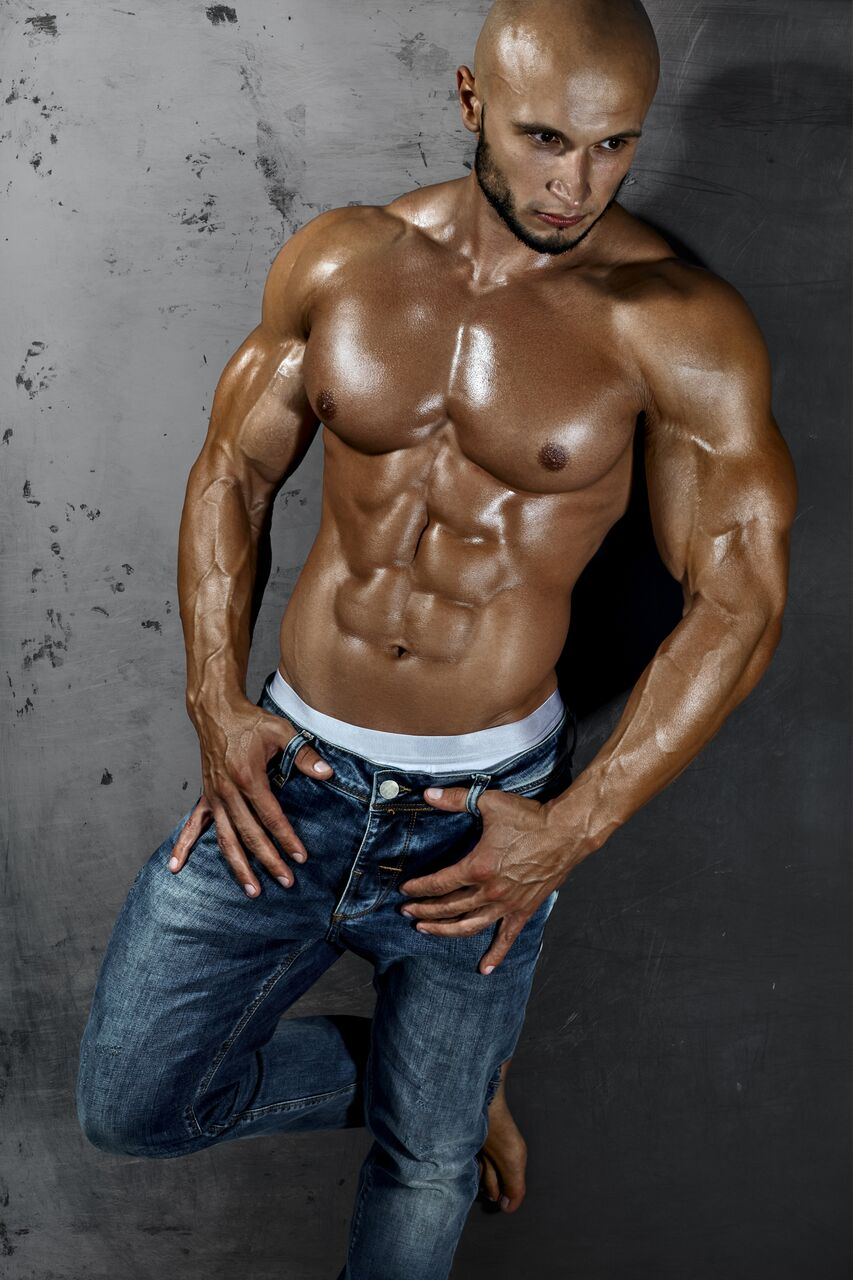 Hot & Handsome Muscle Men - Perfect Muscle System